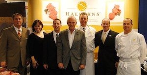 The Halperns crew at the trade show