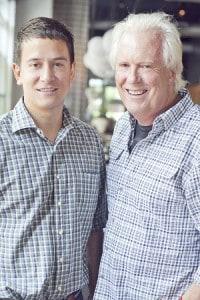 Bob and Justin