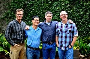 Phil Roness, Joey Ahn, Chris Segal, Steve Buero