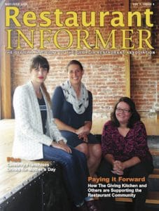 The Giving Kitchen's Jen Hidinger, Naomi Greene, and Stephanie Galer
