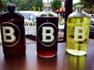 The Bishop Beer and Wine Growlers