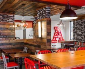 Arby's Restaurant Interior