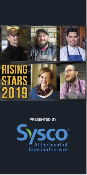 Rising Stars 2019 - Presented by Sysco, at the Heart of Food and Service